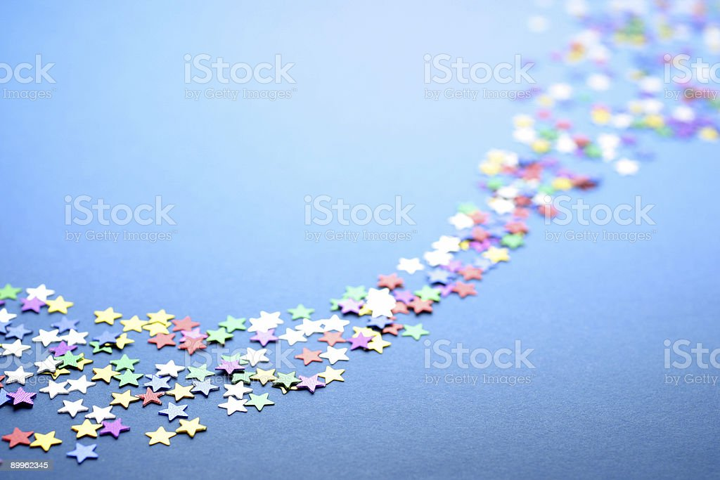 Starry Path royalty-free stock photo