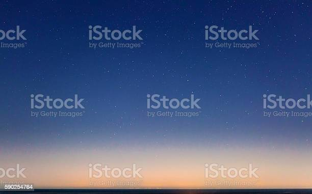 Starry Sky And The Sicily Coastline-foton och fler bilder på Astronomi