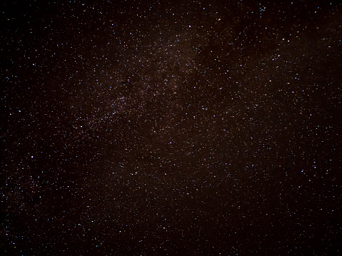 istock Starry sky background template space 1272224807