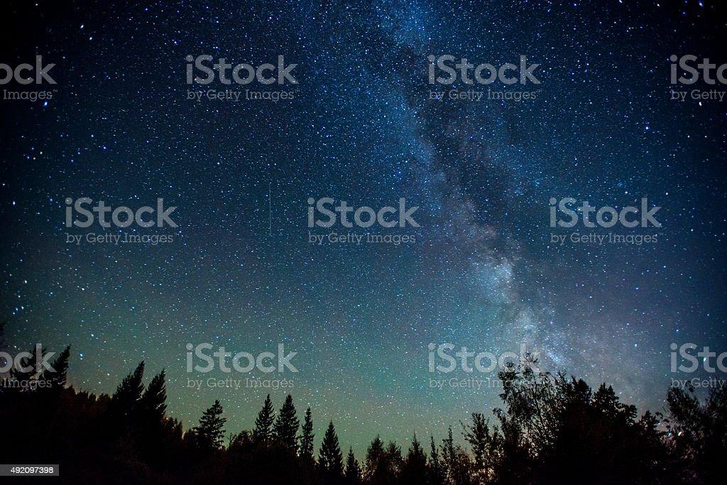 Céu estrelado - foto de acervo