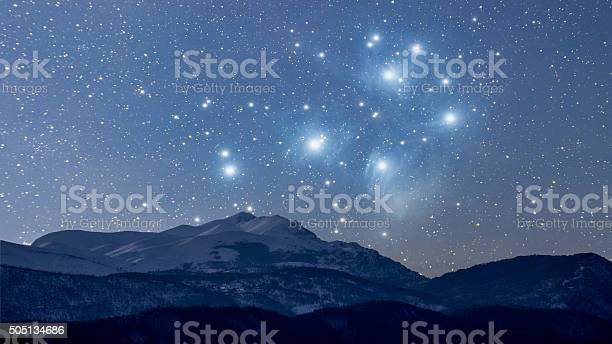 Photo of Starry winter night