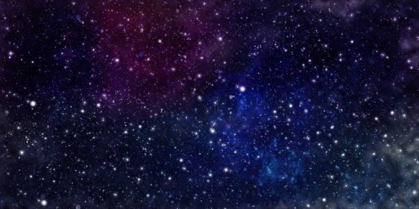 Uzaydaki yıldızlar ve galaksiler uzay keşfinin güzelliğini gösteriyor. stok fotoğrafı
