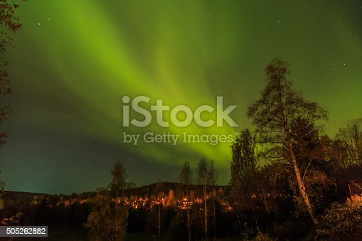 Northern Lights in the autumn