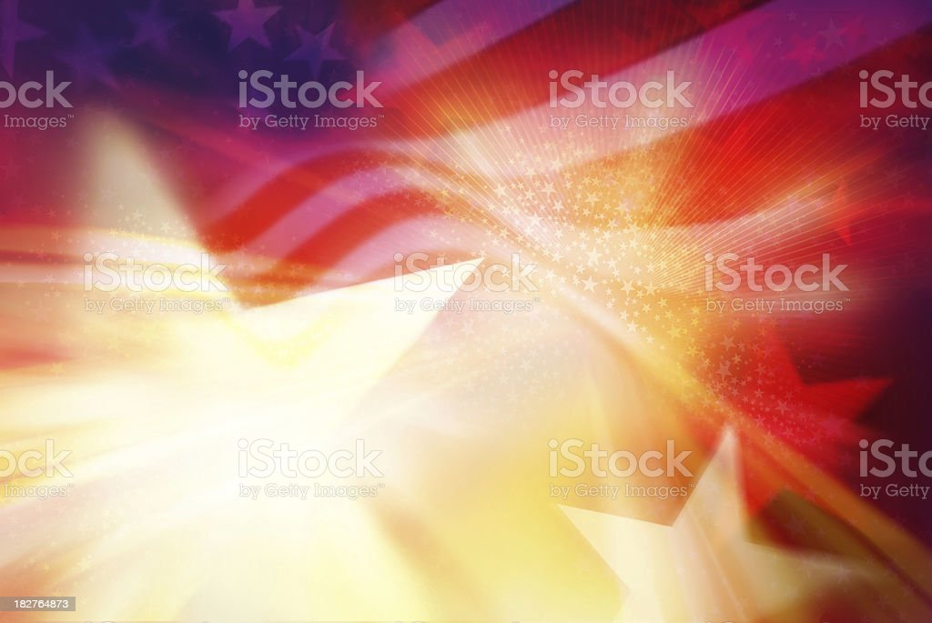 stars and stripes background stock photo