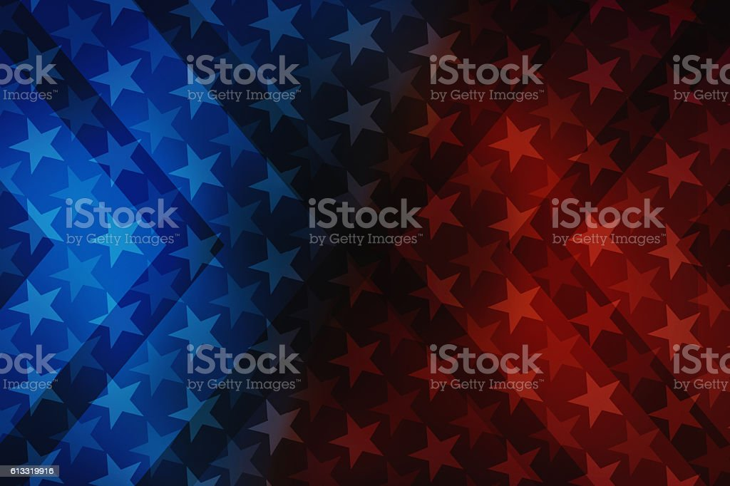 USA stars and stripes illustration background stock photo