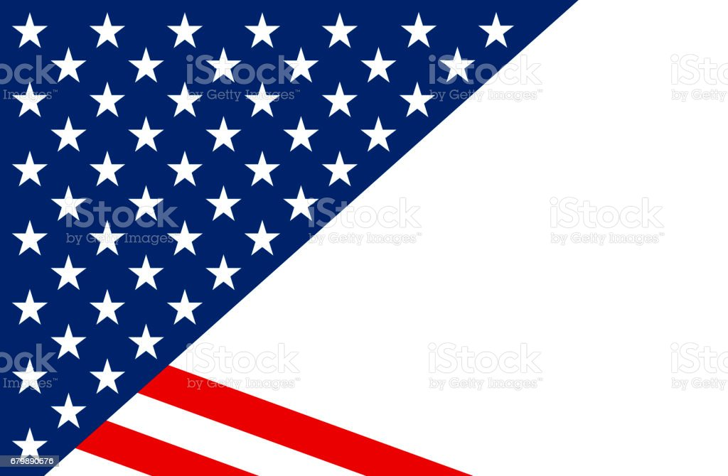 Stars and Stripes illustration stock photo