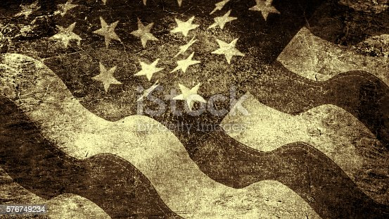 182764873istockphoto Stars and stripes in grunge style 576749234