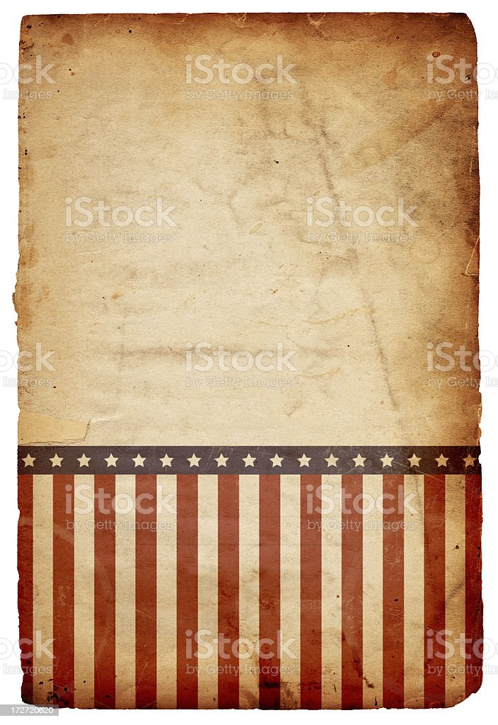 Stars and Stripes Paper XXXL stock photo