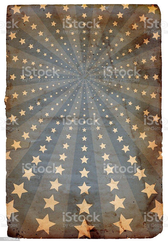Stars and Stripes Paper XXXL royalty-free stock photo