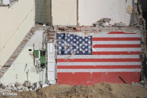 Stars And Stripes Stock Photo & More Pictures of City Life