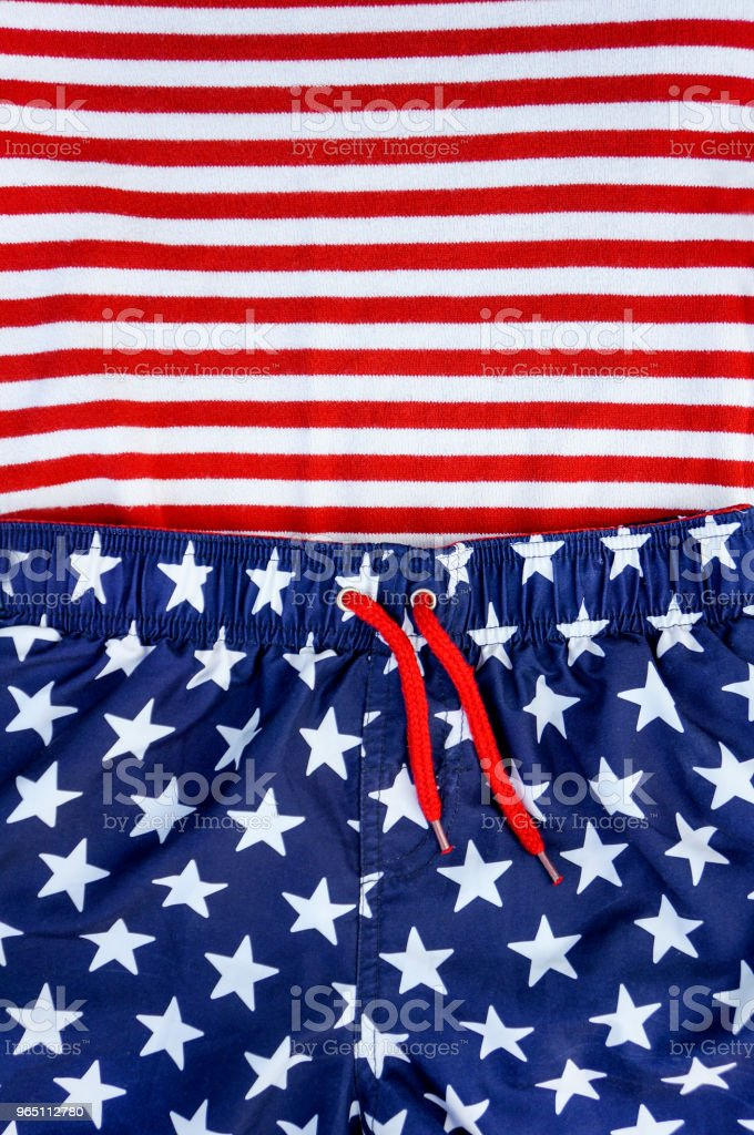 Stars and stripes zbiór zdjęć royalty-free