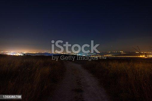 971578384 istock photo Stars at night 1253085758