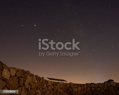 971578384 istock photo Stars at night 1253085911
