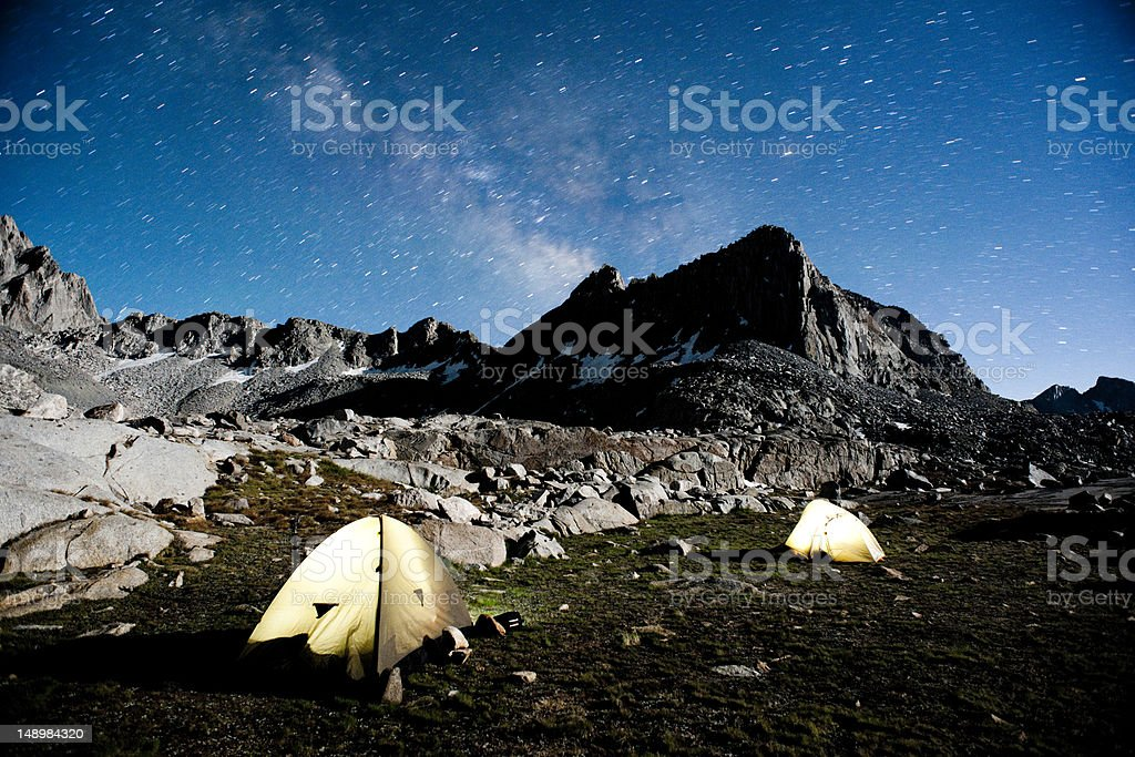 stars at night royalty-free stock photo