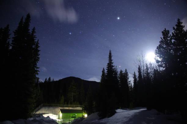 Stars at Night stock photo