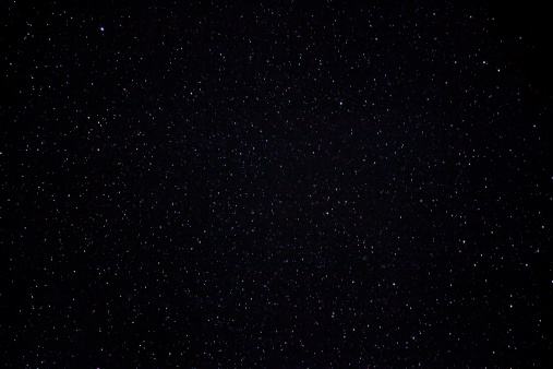 Stars at night sky, view from Acadia National Park, Maine.