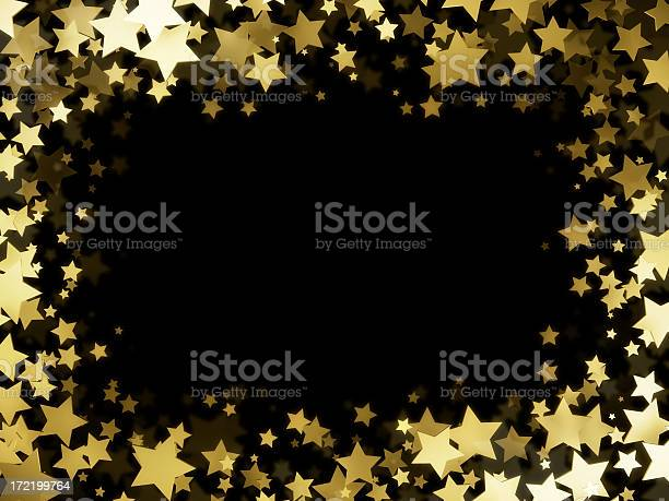 Stars Frame Stock Photo - Download Image Now