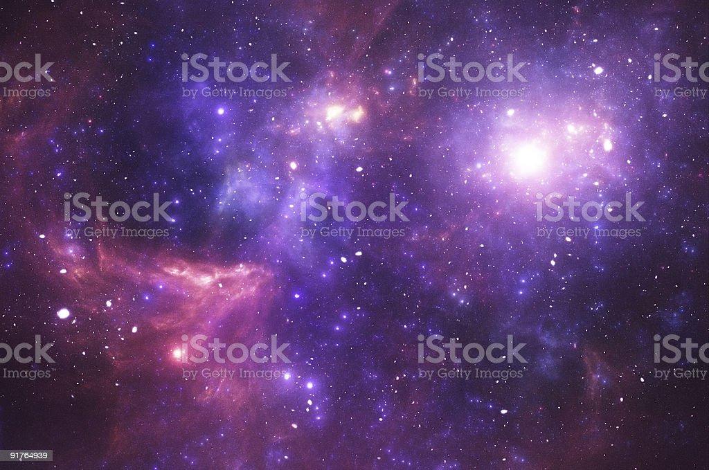 Stars galaxy stock photo