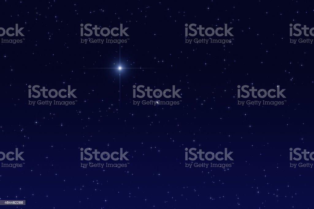 Stars in the Milky Way stock photo