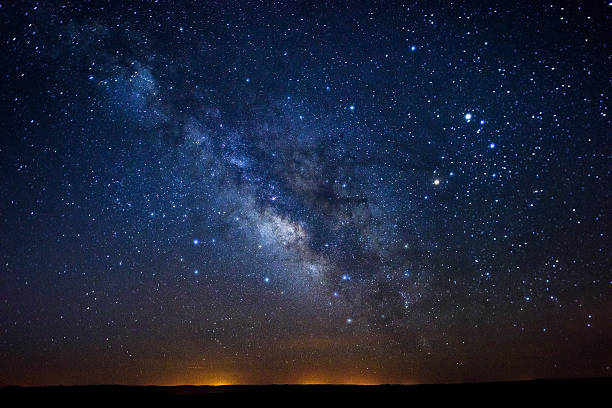 Stars Milky Way Stars Milky Way - View of night sky with intense stars. milky way stock pictures, royalty-free photos & images