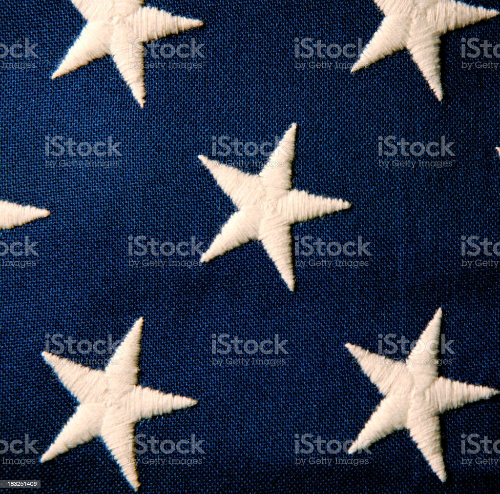 Stars of Old Glory royalty-free stock photo
