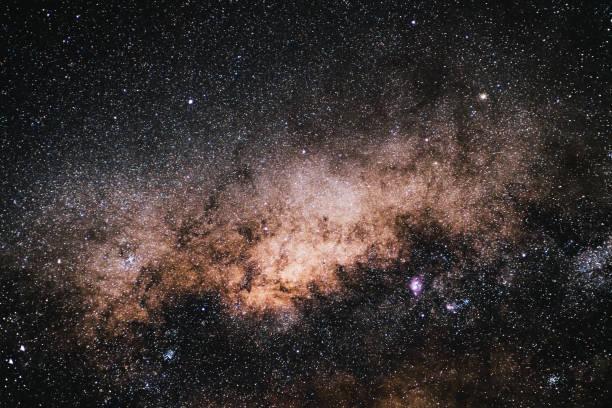 Stars of the Atacama desert stock photo