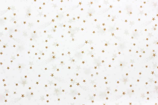 Stars on a white background stock photo