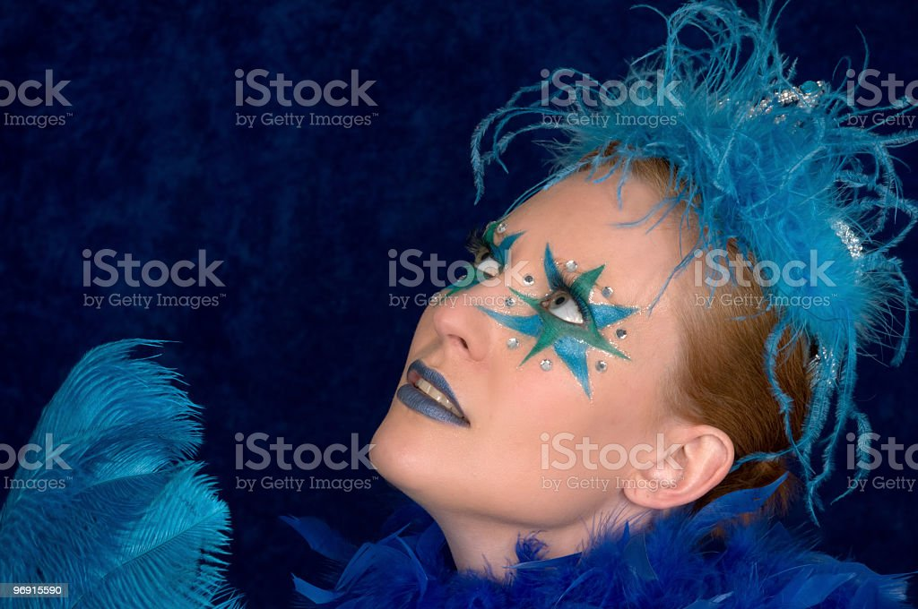 Stars on her eyes. royalty-free stock photo