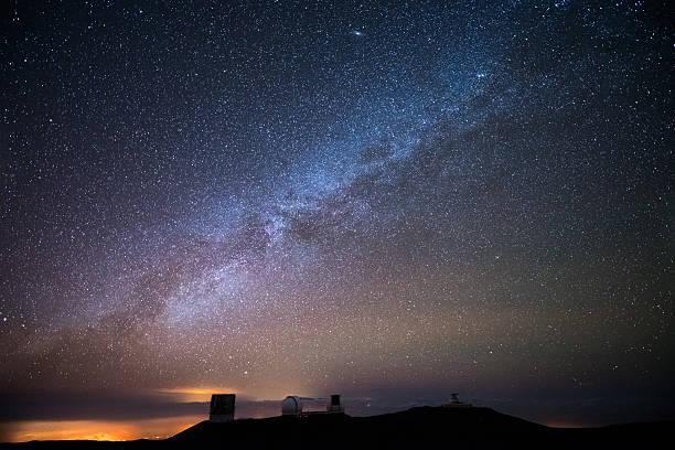 stars over hawaii - 観測所 ストックフォトと画像
