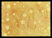 istock Stars pattern in paper background textured 184947144