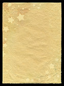 istock Stars pattern in paper background textured 184969715