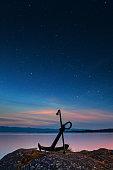 istock Stars Shining Along The Shores Of Victoria, British Columbia 1248643850
