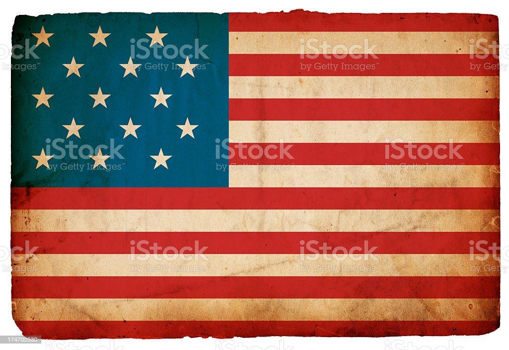 Stars Spangled / Great Garrison Flag XXXL royalty-free stock photo