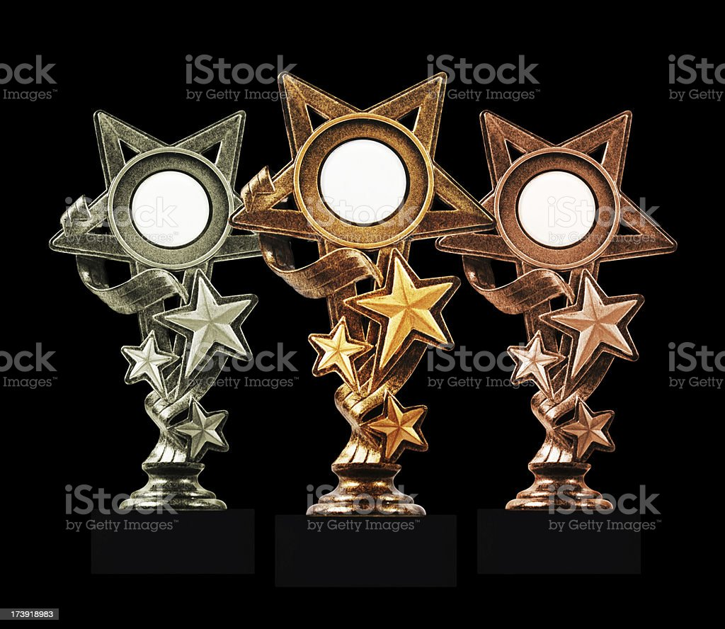 Stars trophies royalty-free stock photo