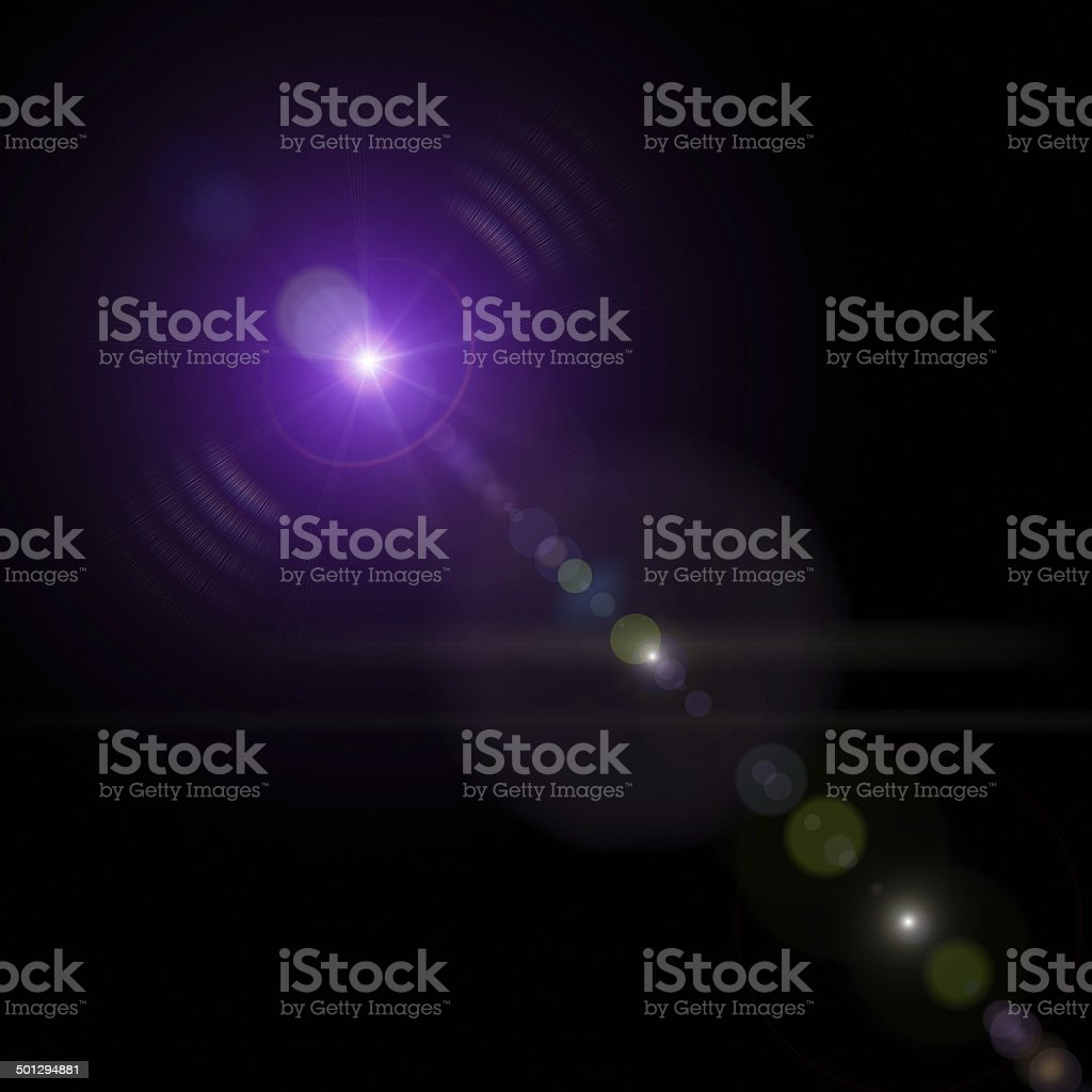 Star-shape on a dark background royalty-free stock photo
