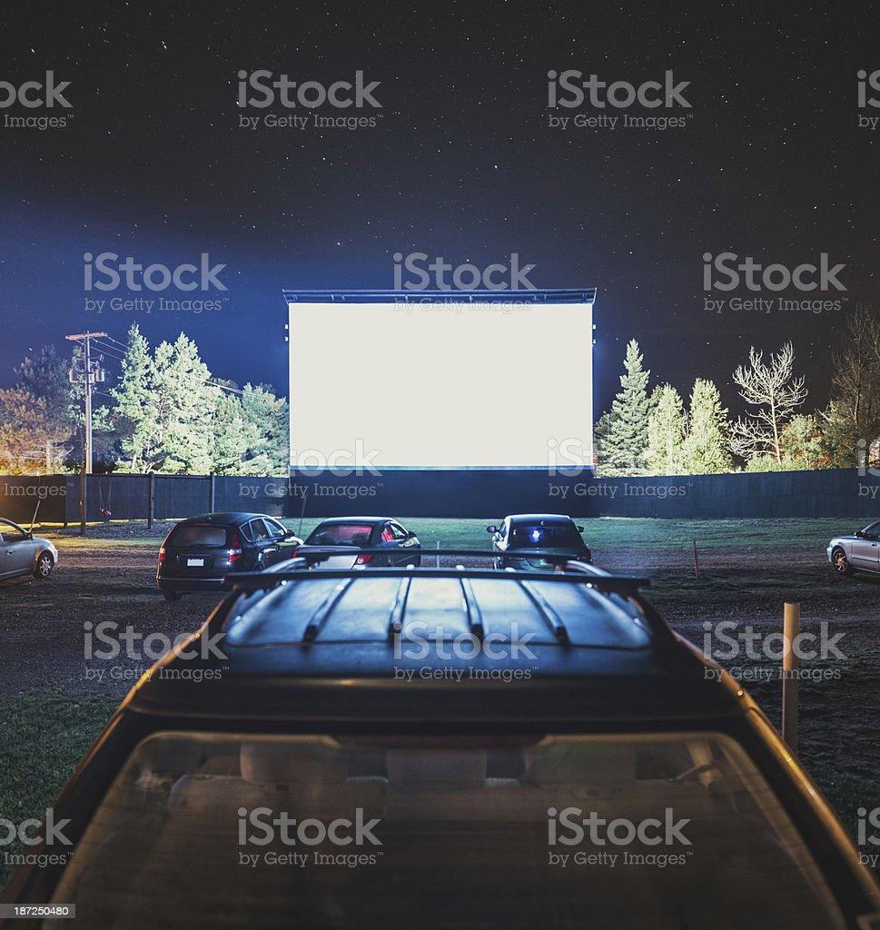 Starstruck Drive In royalty-free stock photo