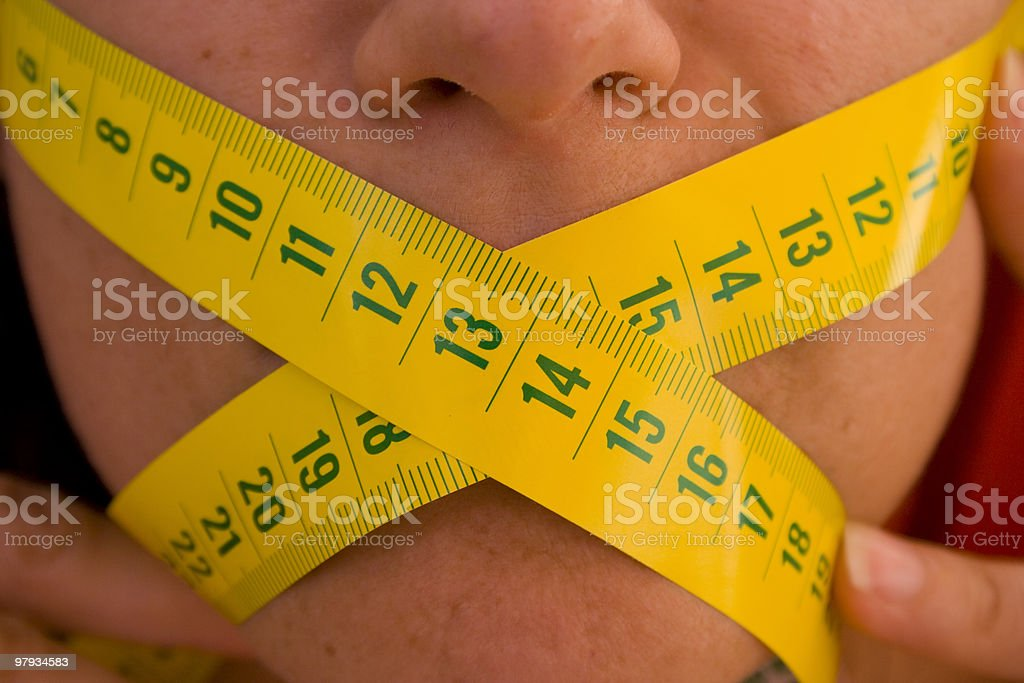 Start a diet 2 royalty-free stock photo