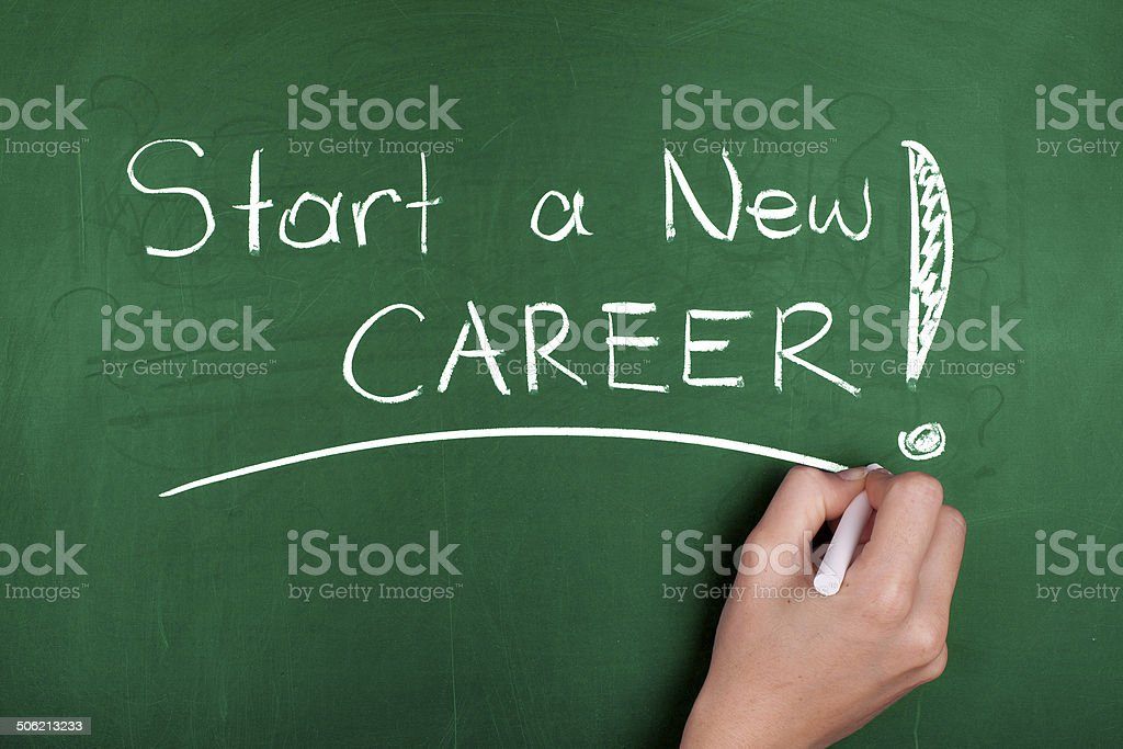 Start a New Career stock photo