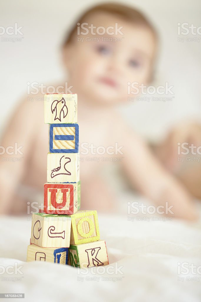 Start building on your child's future today royalty-free stock photo