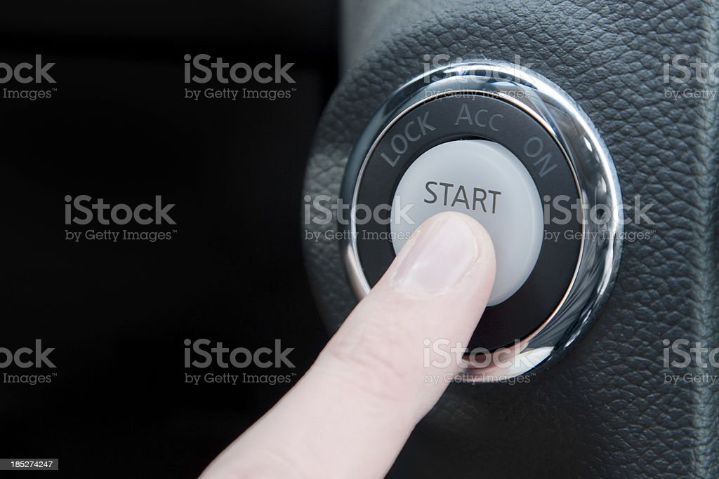 Start Button stock photo