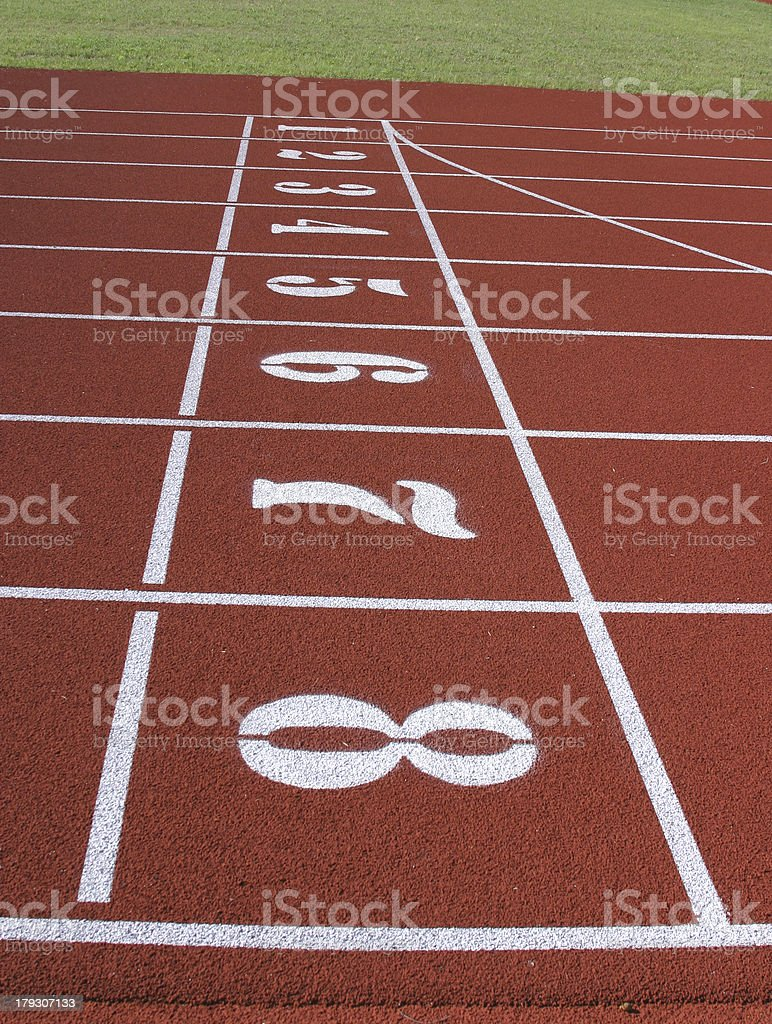 Start line. royalty-free stock photo