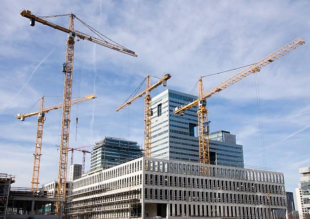 Start des Gebäudes einen neuen highrise – Foto