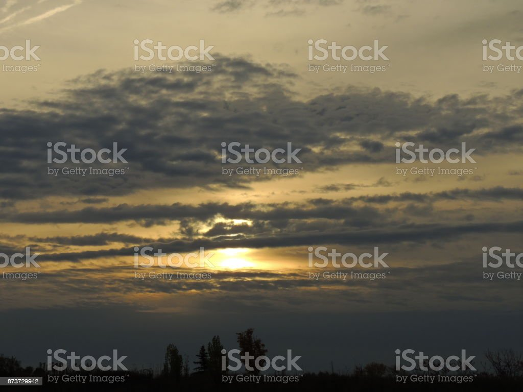 Start of the day stock photo