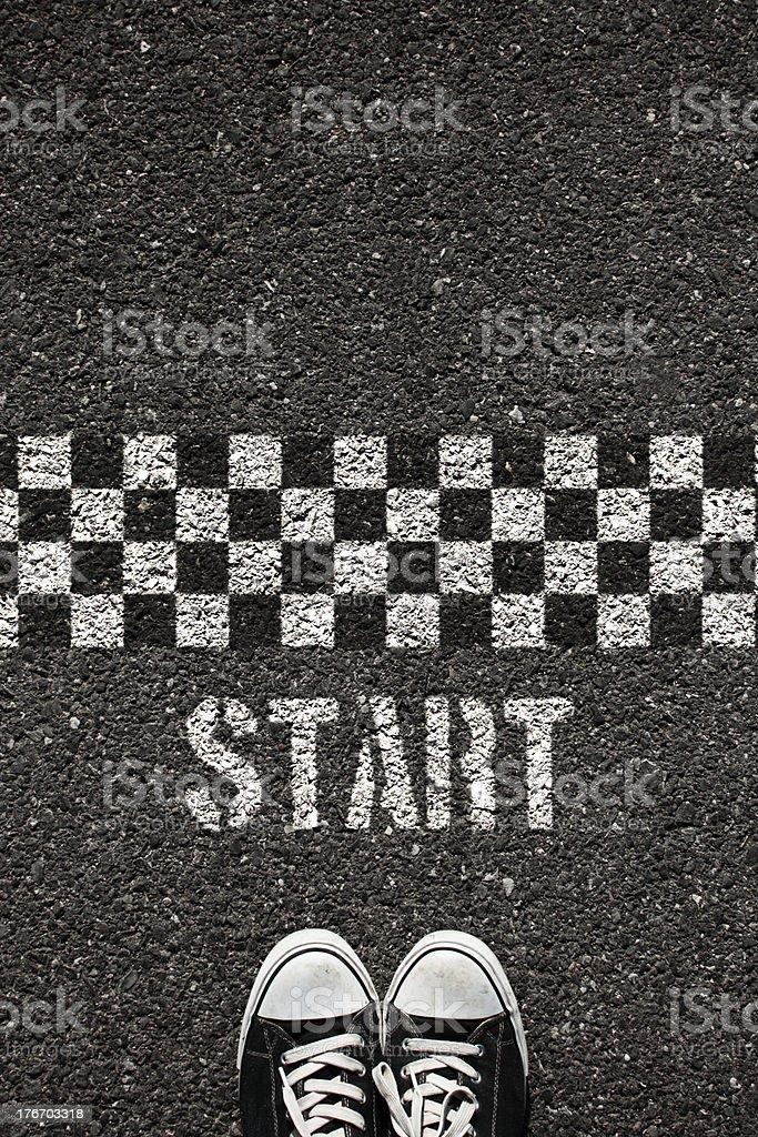 Start stock photo