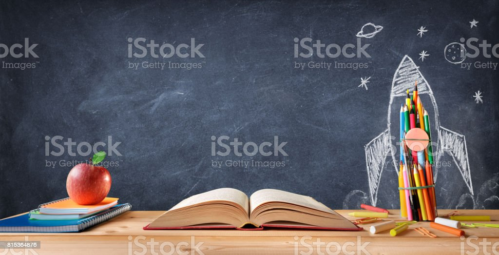Start School Concept stock photo