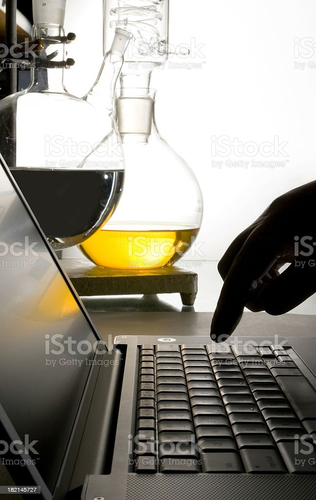 Start the experiment royalty-free stock photo