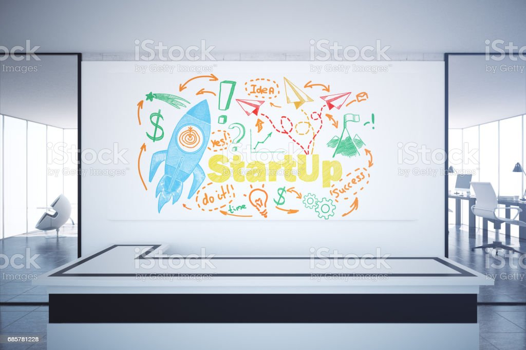 Start up concept royalty-free stock photo