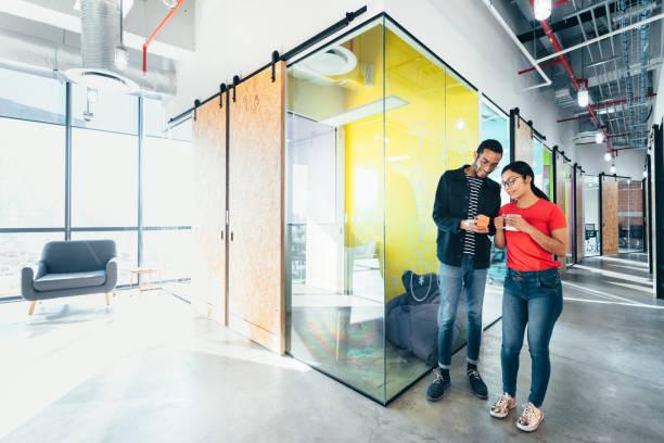 Start-up-Treffen im Co-workoffice – Foto