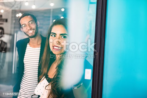 496441730 istock photo Start up meeting in Co-working office 1134532915