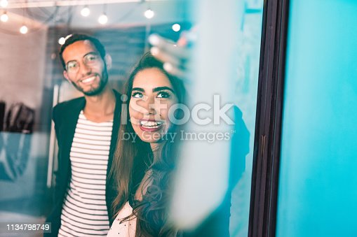 496441730 istock photo Start up meeting in Co-working office 1134798749